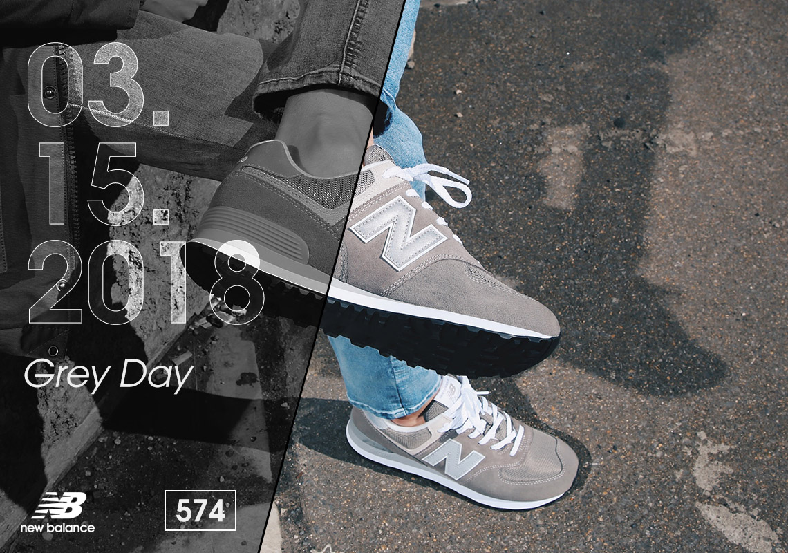 low priced e0563 58171 New Balance Grey Day 574 Shoes - Release Info | SneakerNews.com