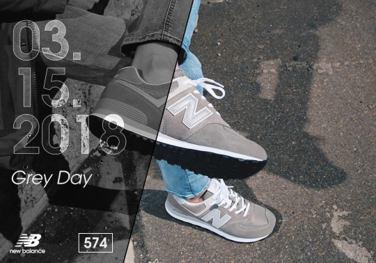 "The First Annual ""Grey Day"" Honors New Balance's Most Vital Color Palette"