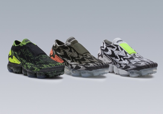 Six Things To Know About The ACRONYM x Nike Vapormax Moc 2