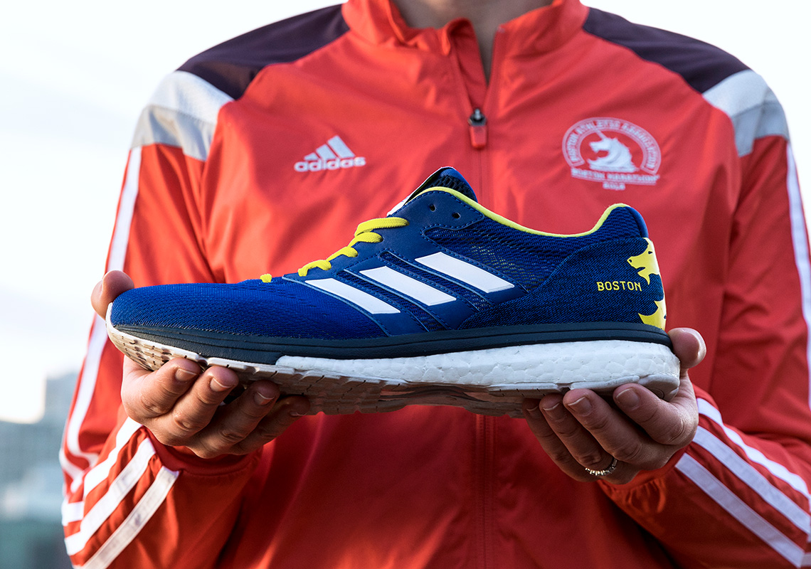 buy popular ad735 58167 adidas boston marathon comment Adidas Consortium and popular sneakers  retailer Nice Kicks teams adidas crazy 1 adv ...