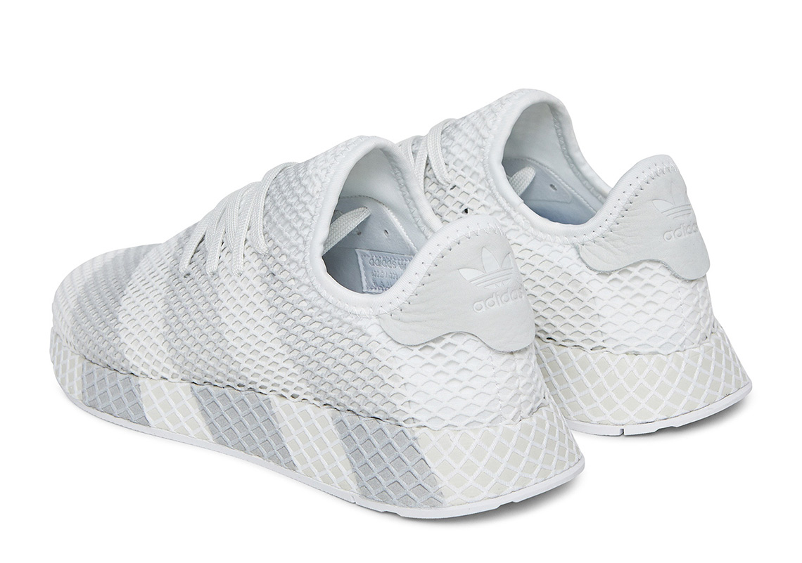 cheaper c4ee2 338f4 adidas Deerupt AVAILABLE AT Socialism 165. Color WhiteGrey Style Code  AC7755
