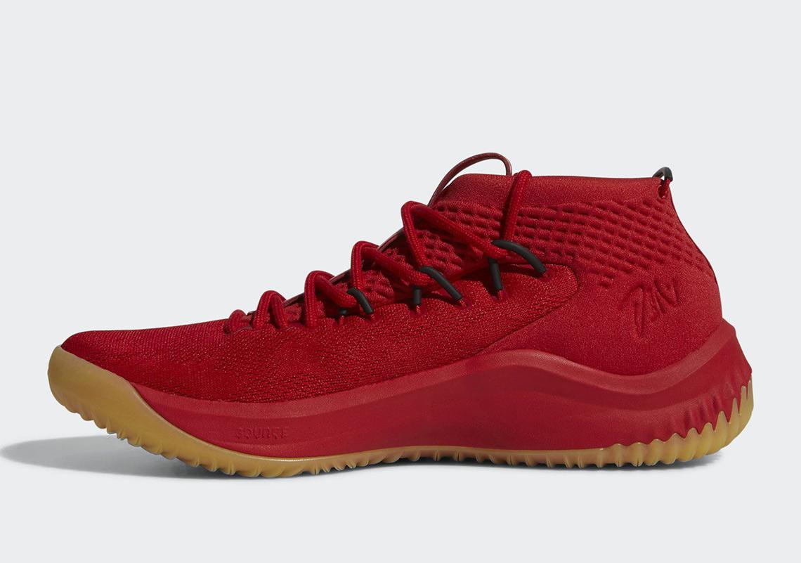 7bccb75e7e8 adidas Dame 4 Red Gum CQ0186 Release Info