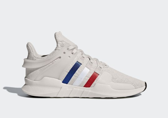 The adidas EQT Support Arrives With Spring-Ready Tri Color Stripes