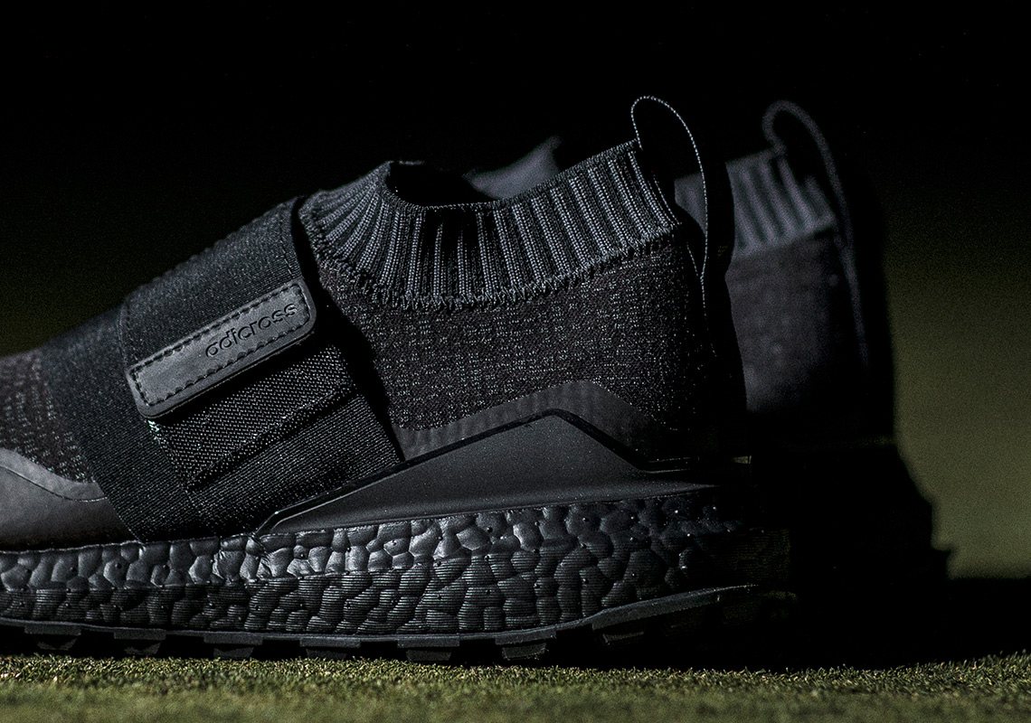 adidas Golf Introduces Black BOOST To Its Footwear For For For The First 0858cf