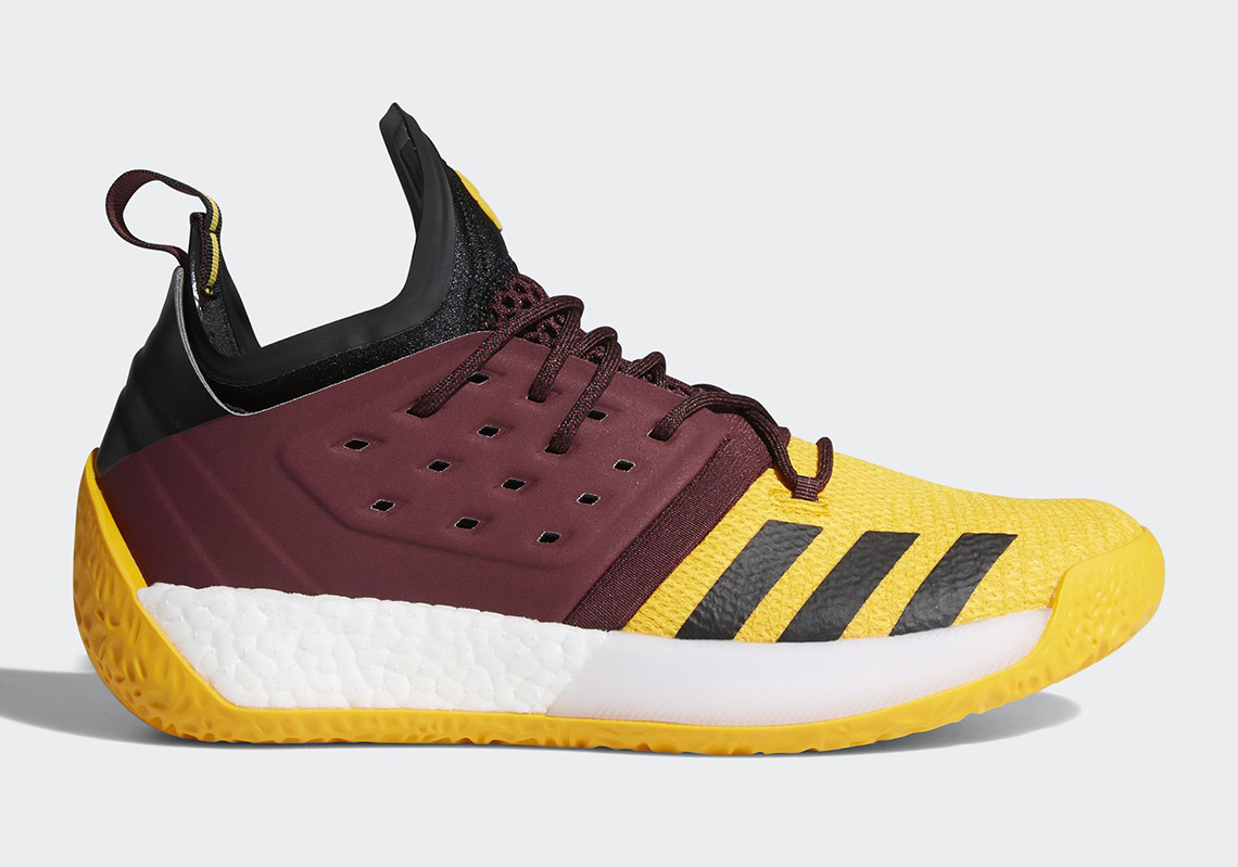 """48fad4494509 UPDATE  The Harden V2 """"Hurricane"""" is available now from adidas."""