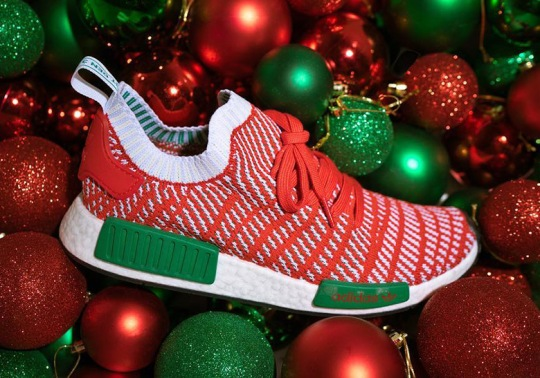 This adidas NMD R1 STLT Primeknit Is Already Prepared For Christmas 2018