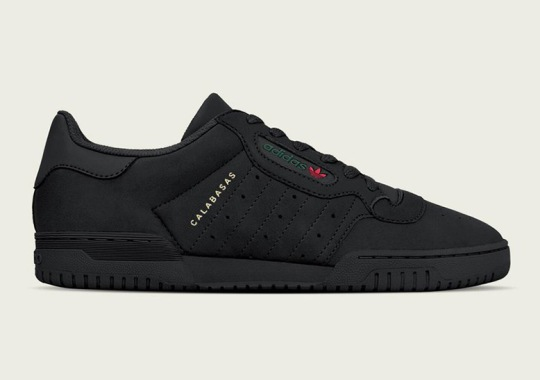 The adidas Yeezy Powerphase Calabasas In Black Releases On March 17th