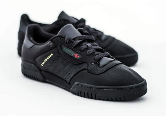 "Where to Buy: adidas Yeezy Powerphase ""Core Black"""