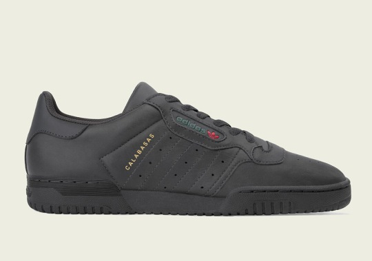 "adidas Officially Unveils The Yeezy Powerphase ""Core Black"""