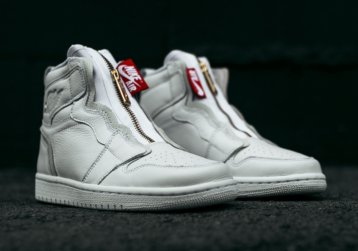 Nike AIR JORDAN 1 HIGH ZIP SNEAKERS Tv34f