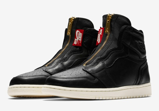 The Air Jordan 1 High Zip In Black Release On March 8th