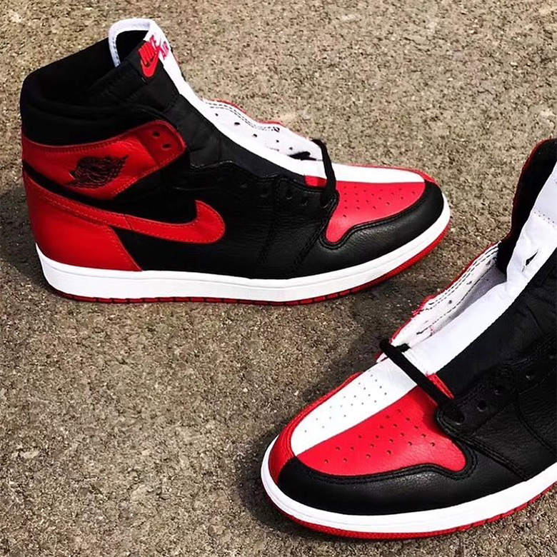 f618f62d64c339 Air Jordan 1 Retro High OG Release Date  May 19th 2018  160. Color   Black White-University Red