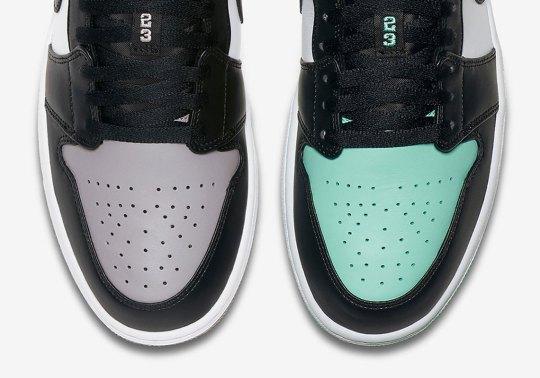 "Air Jordan 1 ""Black Toe"" Colorways Releasing In Low-Tops"