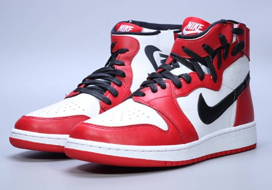 "Air Jordan 1 Rebel To Release In Classic ""Chicago"" Colorway"