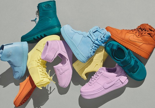 """The Nike """"The 1 Reimagined"""" Collection Arrives in Tonal Spring Colorways on April 6th"""