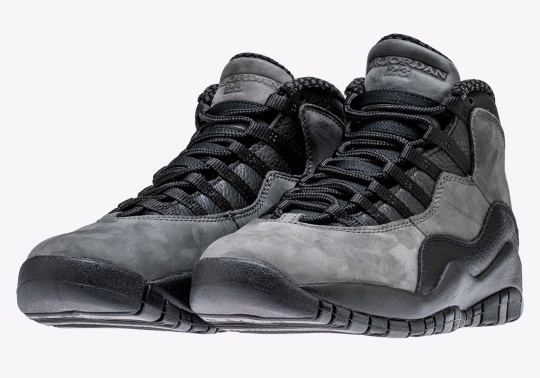 "The Air Jordan 10 ""Dark Shadow"" is Releasing On April 21st"