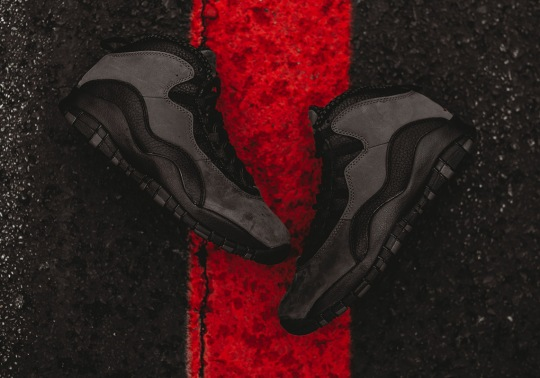 "Detailed Look At The Air Jordan 10 ""Dark Shadow"""