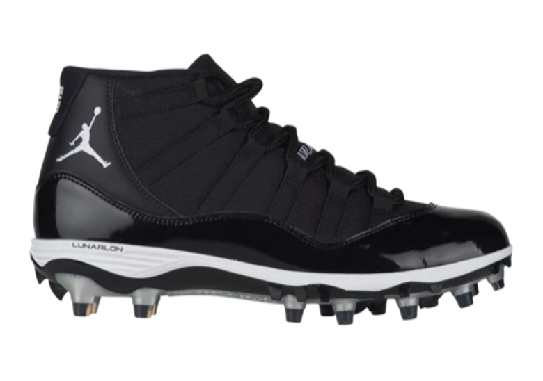 "hot sale online 87156 241a0 Advertisement. Air Jordan 11 TD Cleat ""Space ..."