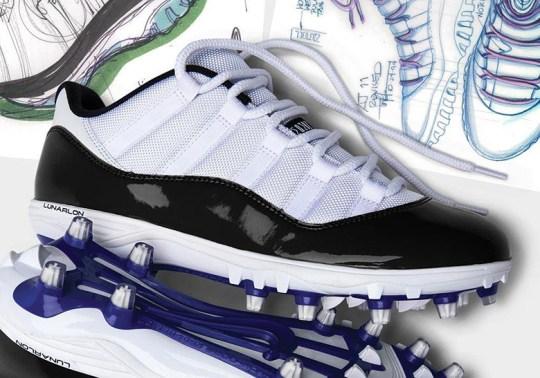 Jordan Brand Releases Air Jordan 11 Cleats In Mid And Low
