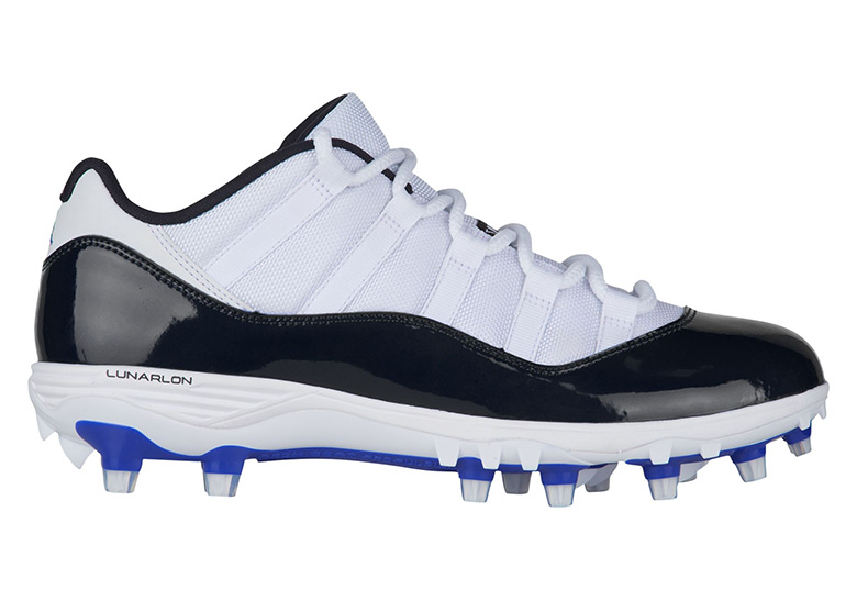 """f1a33d6fb2a Air Jordan 11 Low TD Cleat """"Concord"""" Release Date  March 20"""