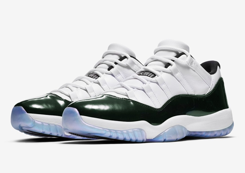 "dd3a86d4048 Where To Buy  Air Jordan 11 Low ""Easter Emerald"". March 29"
