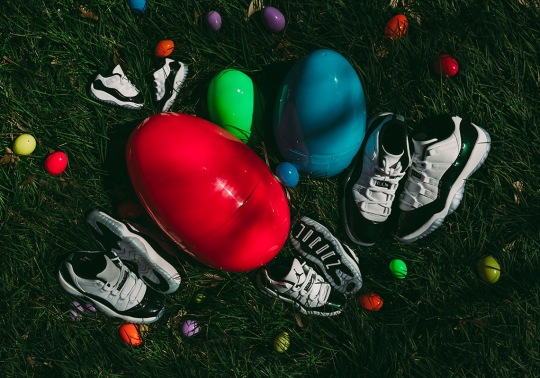 """Full Family Sizing Will Be Available For The Air Jordan 11 Low """"Emerald"""""""