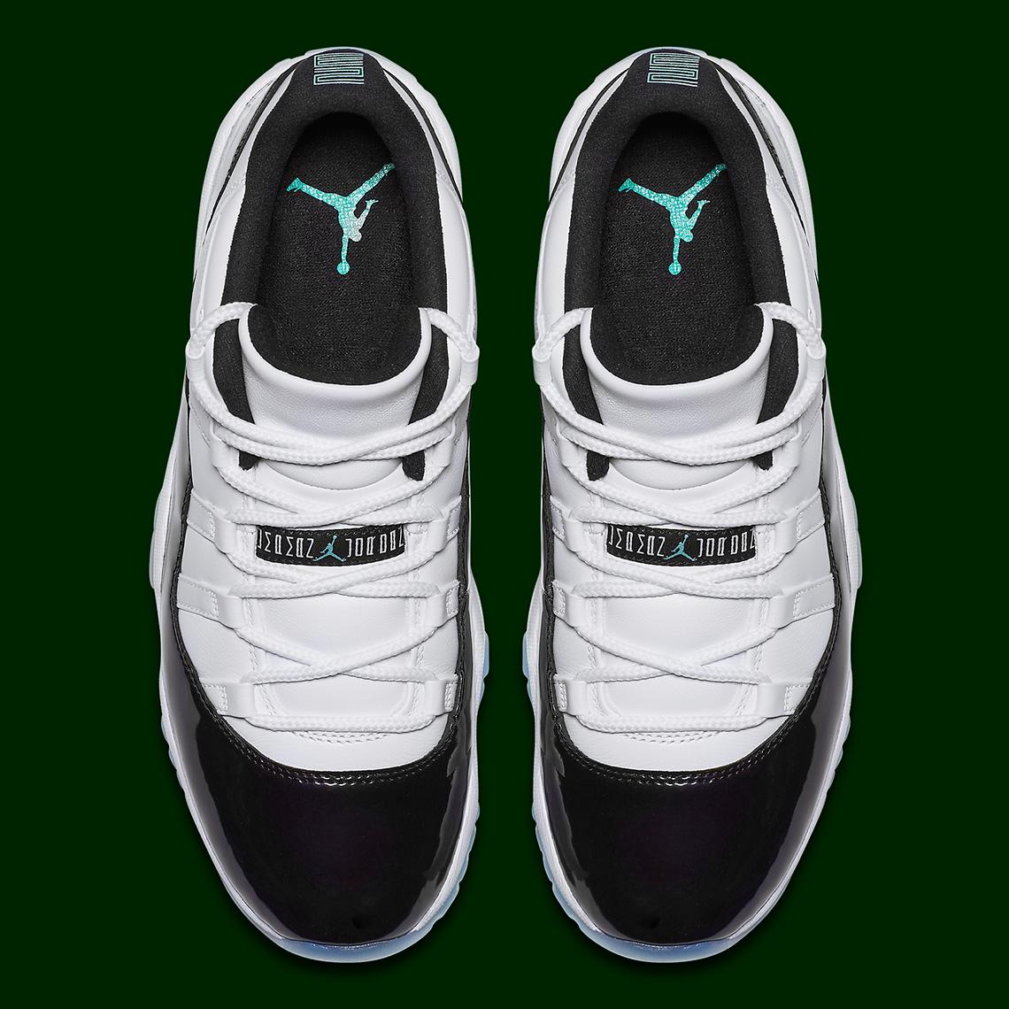 combien à vendre Air Jordan 11 Montée Rétro Faible Émeraude Skye de gros vente tumblr grosses soldes où trouver zXI8ERGC4