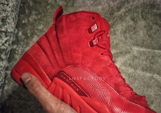 "The Air Jordan 12 May Release In A ""Red October"" Colorway"