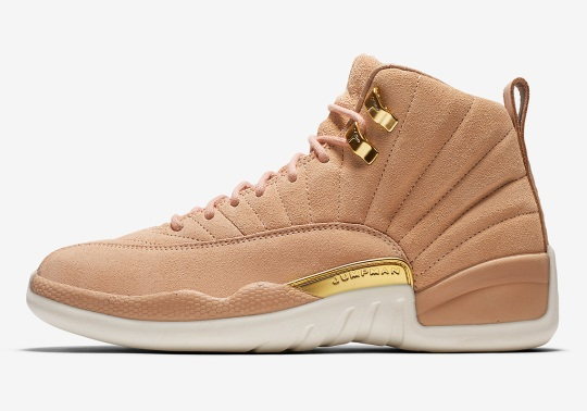 "Official Images Of The Air Jordan 12 ""Vachetta Tan"" Exclusively For Women"
