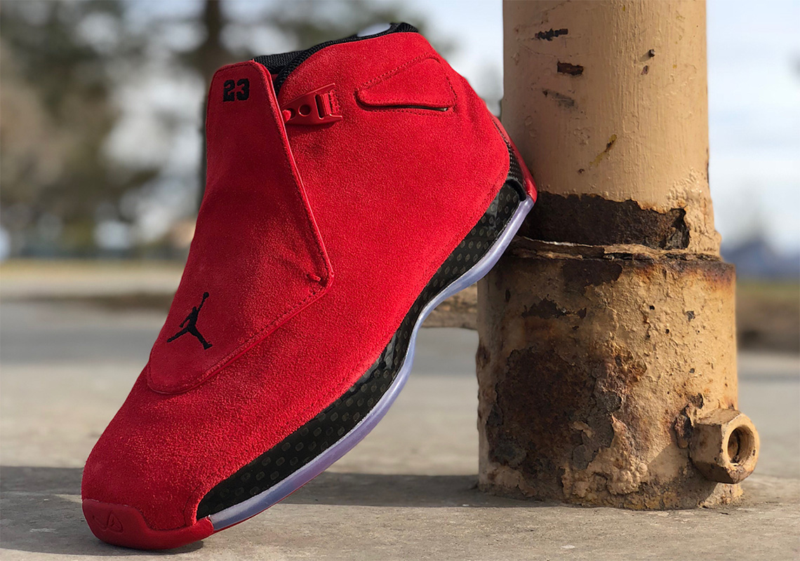 2e006ffa02a Air Jordan 18. Release Date  April 2018  225. Color  Gym Red Black