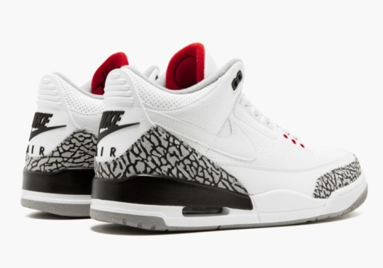 Justin Timberlake's Air Jordan 3 JTH Releasing Tonight At Jordan Toronto