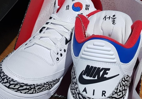 "Closer Look At The Air Jordan 3 ""Korea"""