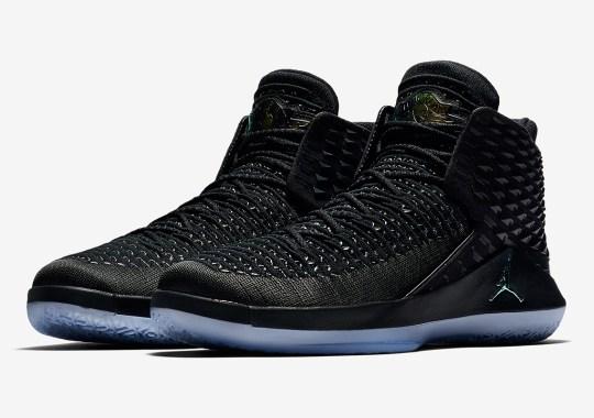 "Air Jordan 32 ""Black Cat"" Set To Release On April 7th"