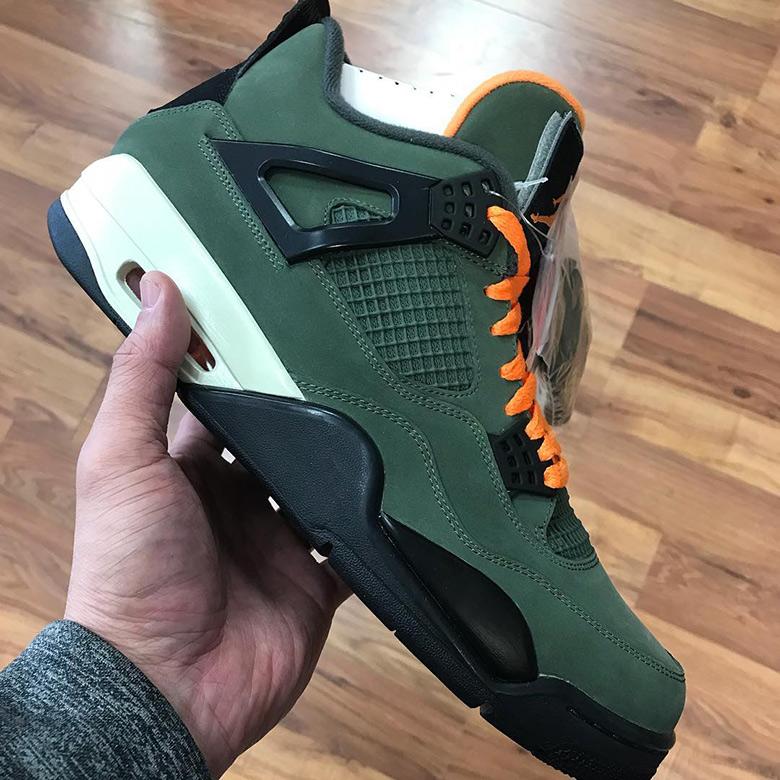 quality design 6ce83 003a5 Undefeated Air Jordan 4 2018 Release Info | SneakerNews.com