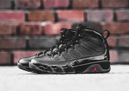 Where To Buy The Air Jordan 9 PE In Black And Red