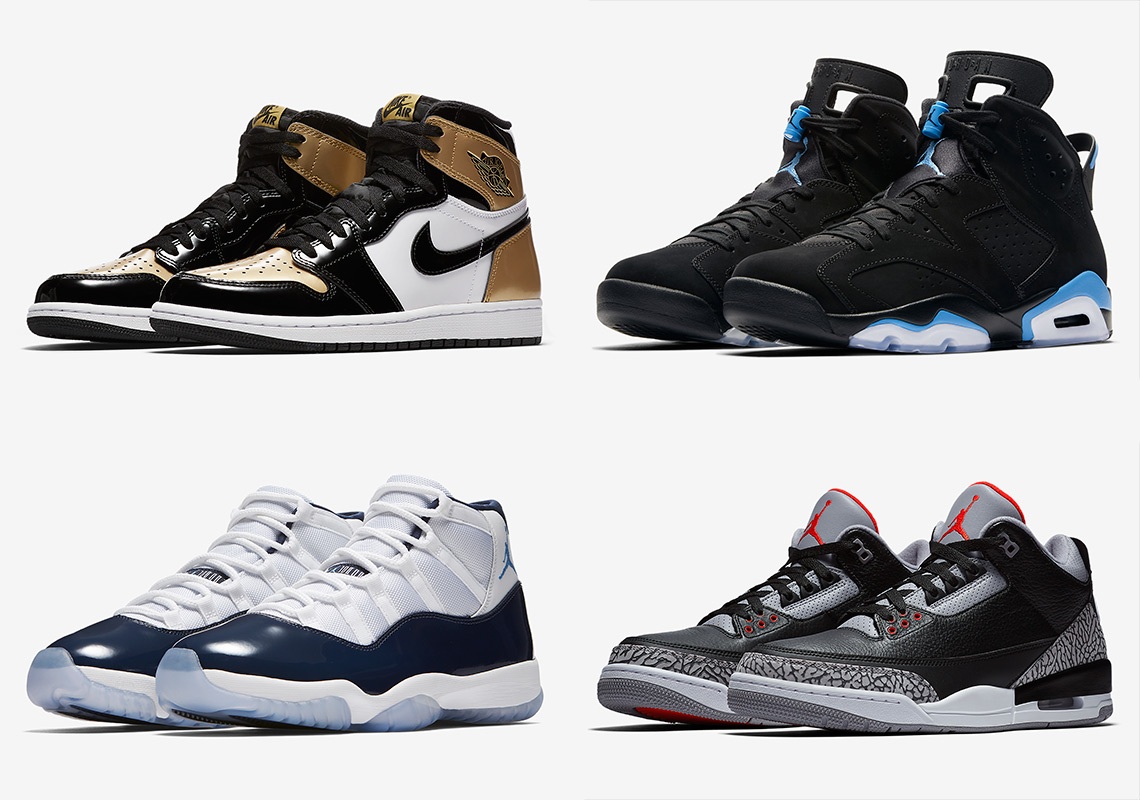 ecc8539538725 Massive Air Jordan Restock At Champs Sports New Times Square NYC Store