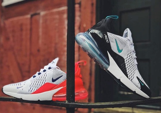 """Where To Buy: Nike Air Max 270 """"Dusty Cactus"""" and """"Ultramarine"""""""