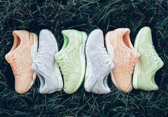 "Asics Releases A GEL-Lyte III ""Easter Suede"" Pack"