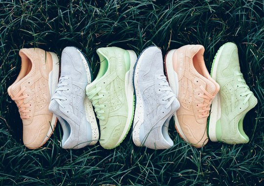"""Asics Releases A GEL-Lyte III """"Easter Suede"""" Pack"""
