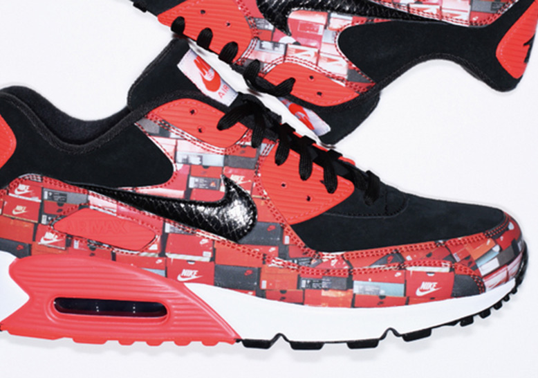 sports shoes 79ee2 dfd9e atmos Nike Air Max 90 Shoebox | SneakerNews.com