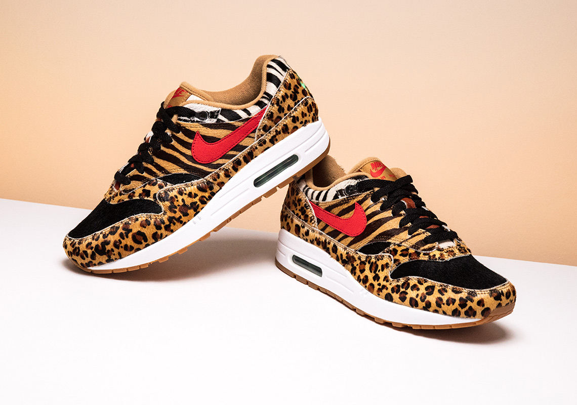"""reputable site 98d70 2571c atmos x Nike Air Max 95 """"Animal Pack 2.0"""" Release Date March 17th, 2018.  Avaiable now at Stadium Goods Color PonySport Red-Black-Classic Green"""
