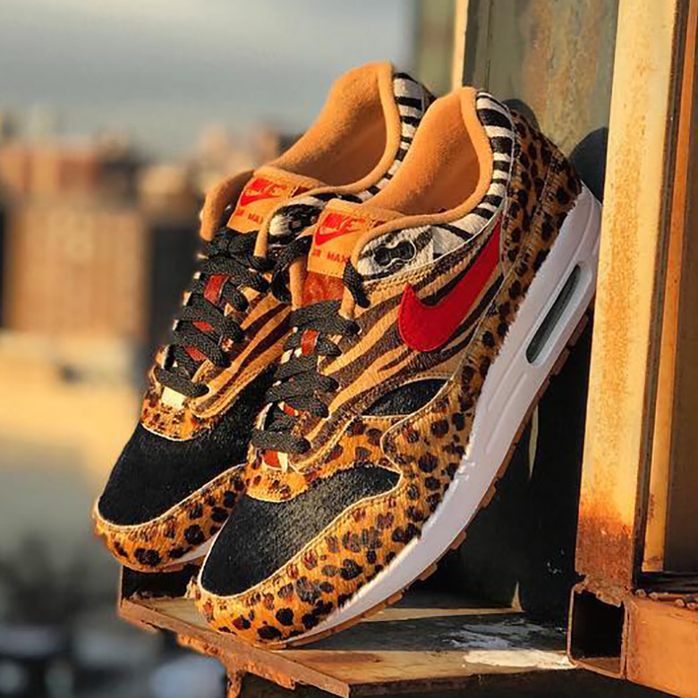 new concept 81b54 828bf atmos NYC Nike Air Max Animal Pack 2.0 SNKRS Release Info ...
