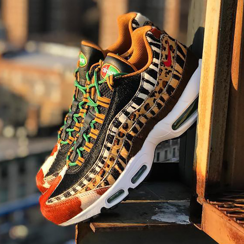 atmos NYC Nike Air Max Animal Pack 2.0 SNKRS Release Info