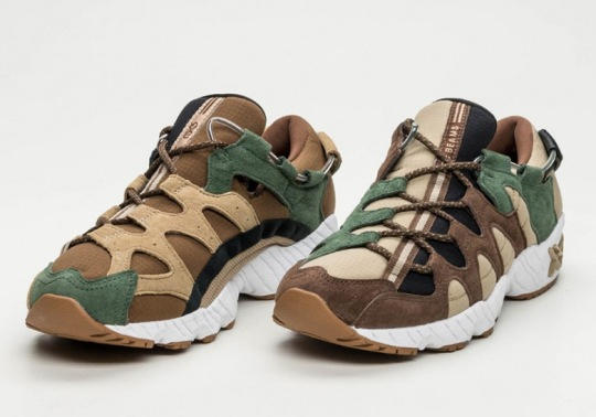 BEAMS Japan Gives The ASICS GEL Mai A Forest Theme