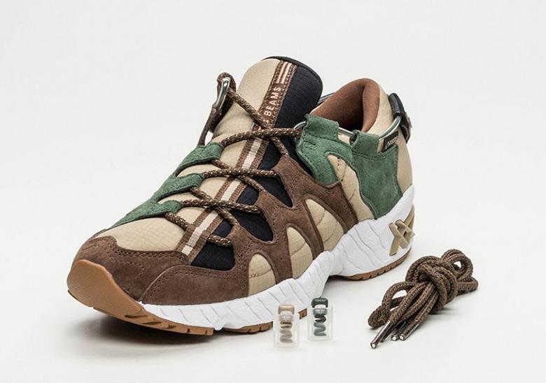 uk availability 472b9 42b60 BEAMS x ASICS GEL Mai Forest Release Info | SneakerNews.com