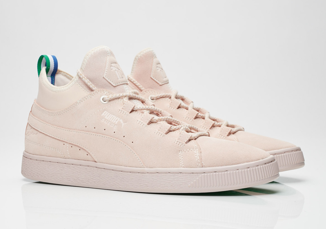2f5cfc3e374 Big Sean x Puma Suede Mid Release Date  March 31