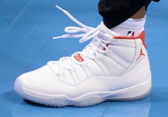 Chris Paul Debuted New Air Jordan 11 PE Against The OKC Thunder