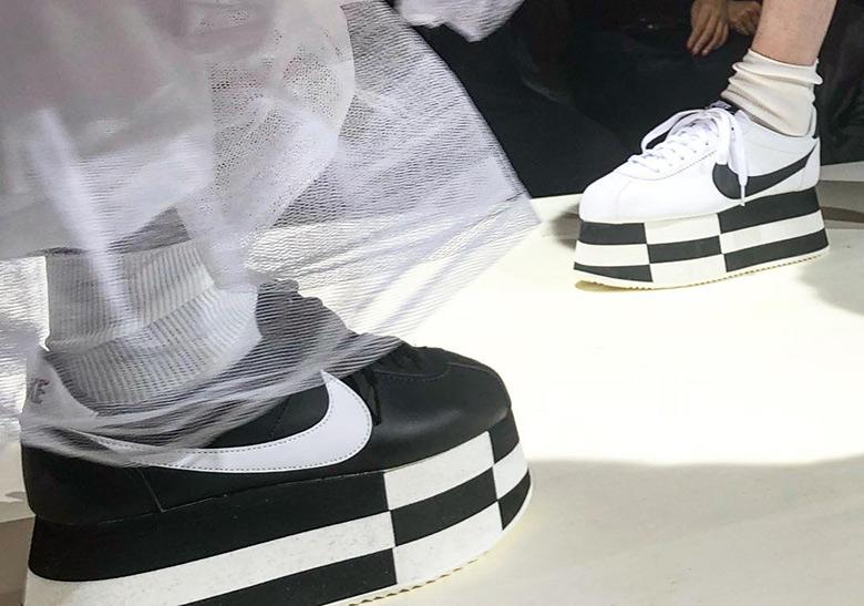 COMME des Garcons x Nike Cortez