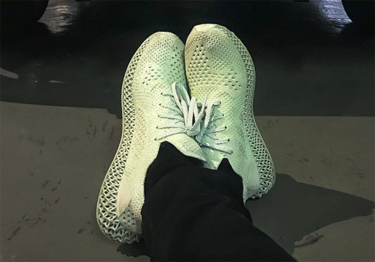 Daniel Arsham Sports His Upcoming adidas Futurecraft Collaboration