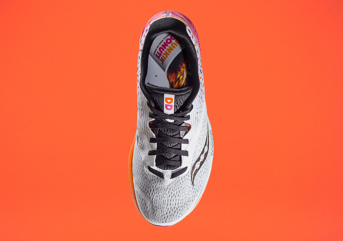 Boston Based Saucony Collaborates With Dunkin Donuts For